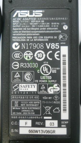 ноутбука Asus ADP-65JH BB,